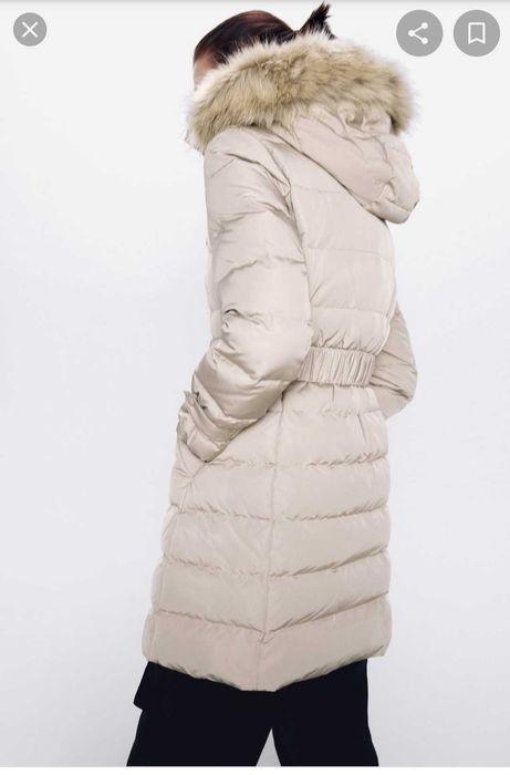 Пуховик Zara пух-перо размер XS Львов - изображение 1