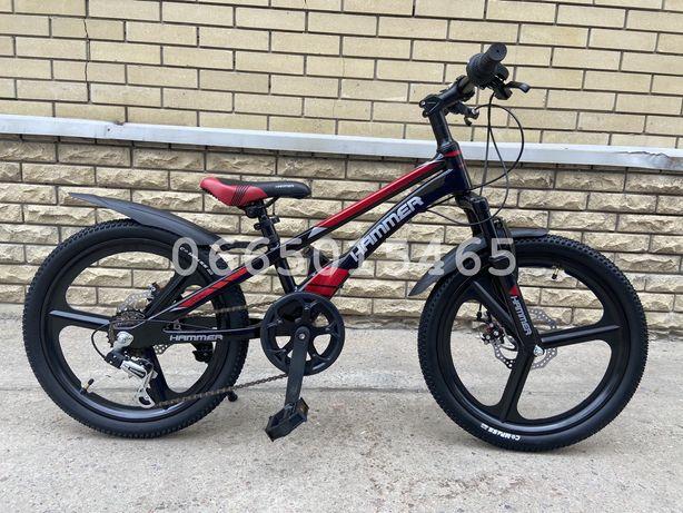 Детский скоростной велосипед Hammer VA210 MG 20 дюймов