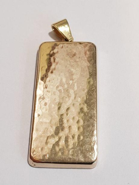 Złoty wisior męski 585