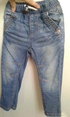 Джинсы штаны на мальчика,12-18 мес, рост 80-86 см