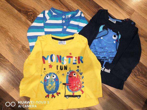 Bluzeczki niemowlęce
