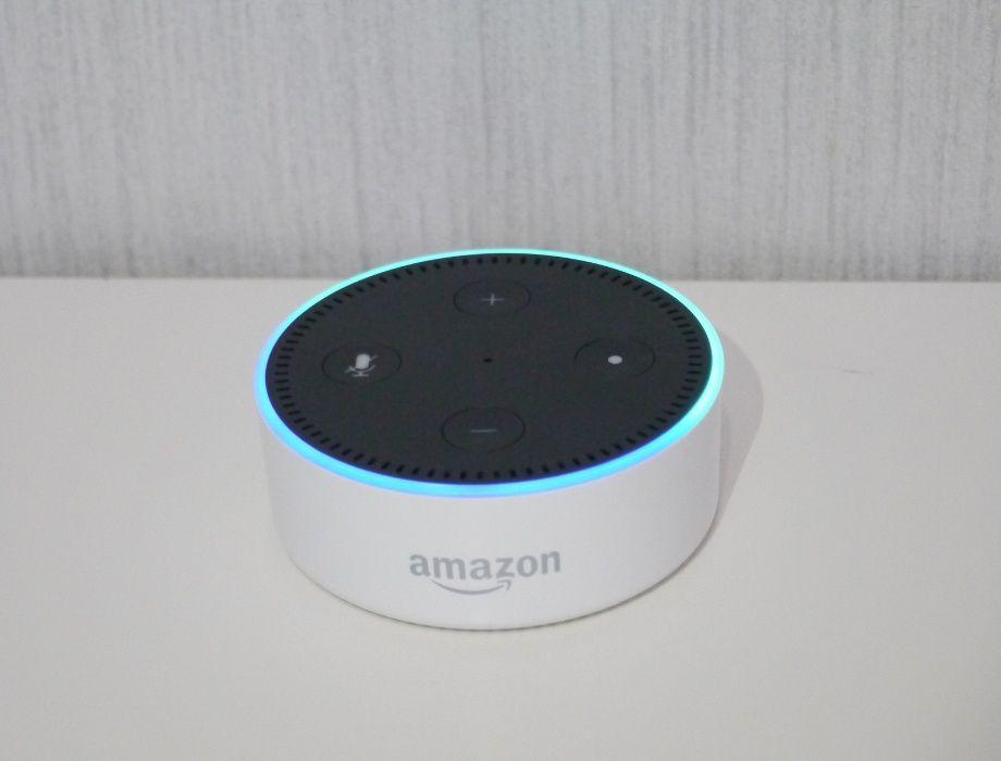 Умная колонка Amazon Echo Dot 2 Generation с голосовым ассистентом Хмельницкий - изображение 1