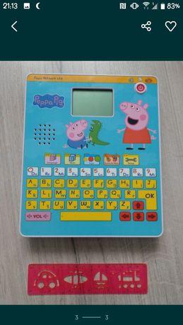 Tablet zabawka nauka Świnka Peppa dźwięki angielski
