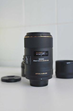 Sigma EX 105 mm F/2.8 MF HSM DG EX OS AF P/Nikon