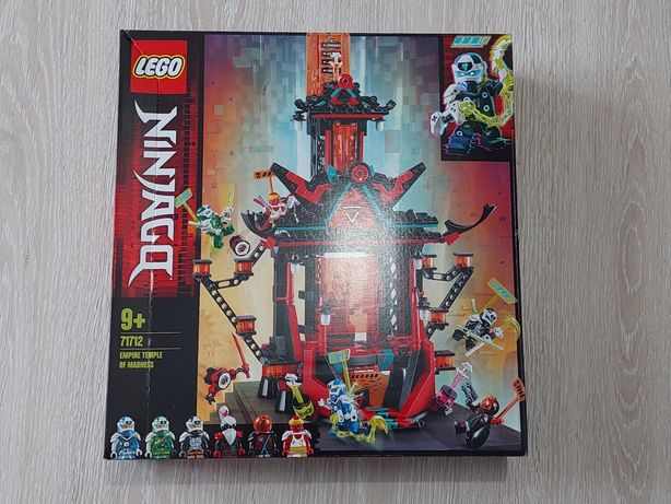 Lego Ninjago 71712 Imperialna Światynia szaleństwa (Nowy, zaplombowany