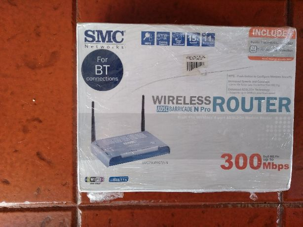 Router SMC Barricade N 300 Mbps