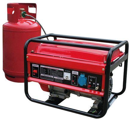 Gerador de corrente eléctrica a gás 220V - 5500w - 13hp
