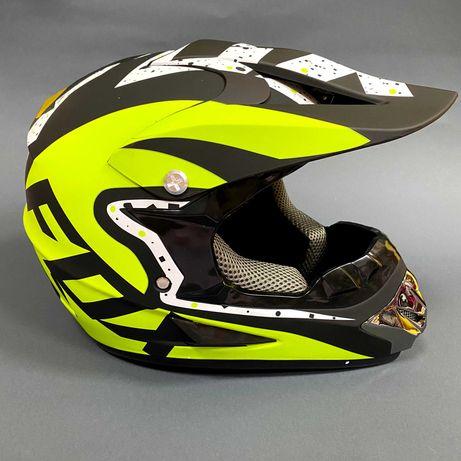 Шлем кроссовый Fox One размер М (57-58см)