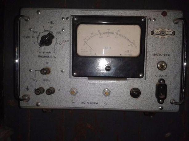 Измеритель высоких сопротивлений Е6-3 тераомметр
