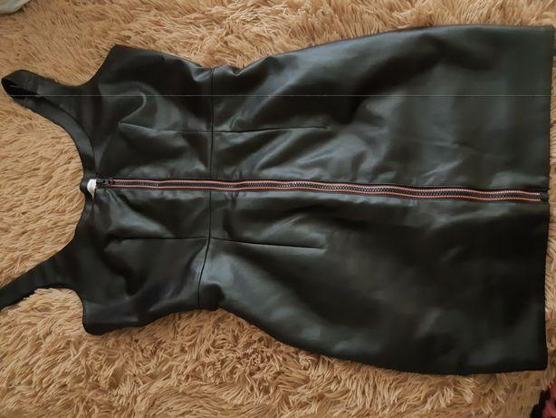 Платье сексуальное черное