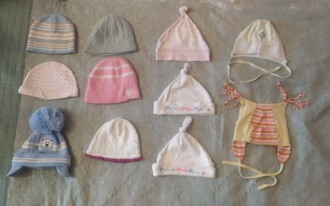Детская панамка шапка косынка чепчик 0-3-6-9-12-18-24 месяцев 1-2 года