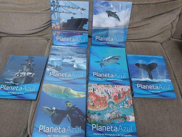 Colecção Planeta Azul 8 volumes