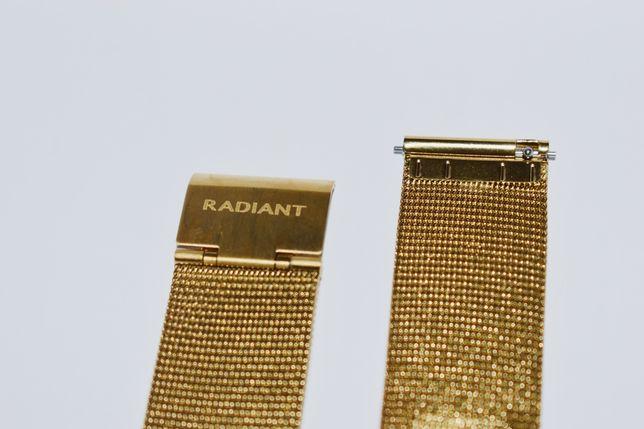 Bracelete dourada smartwatch Radiant