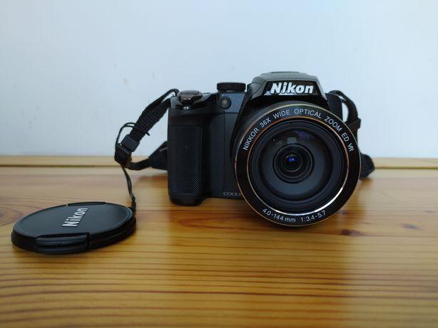 Nikon Coolpix p500 aparat plus torba