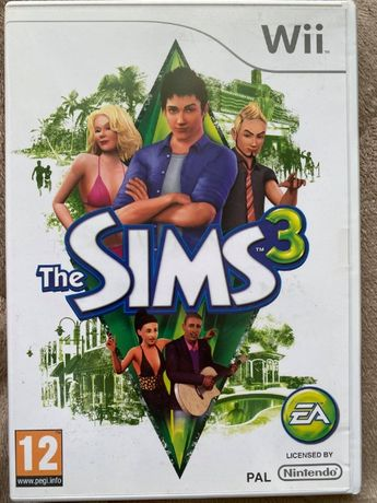 Wii Jogos - The Sims 3