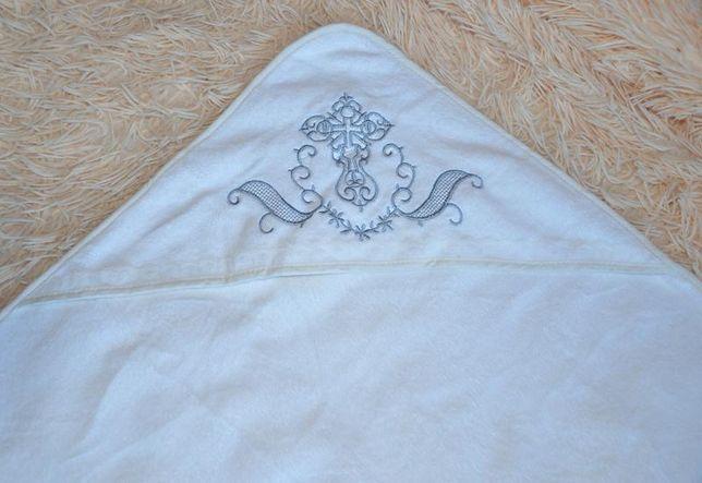 Крыжма новая, полотенце-уголок для крещения новорожденных