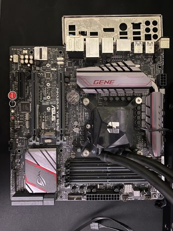 Motherboard ROG MAXIMUS VIII LGA1151 + I5 6600 + NOX Hummer LIQUID