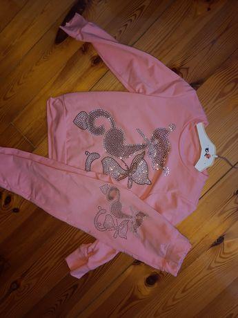 Nowy dres różowy