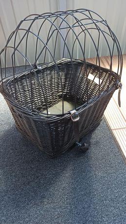 Koszyk dla psa na rower