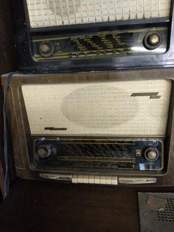 Radio Lampowe Grundig Antyk