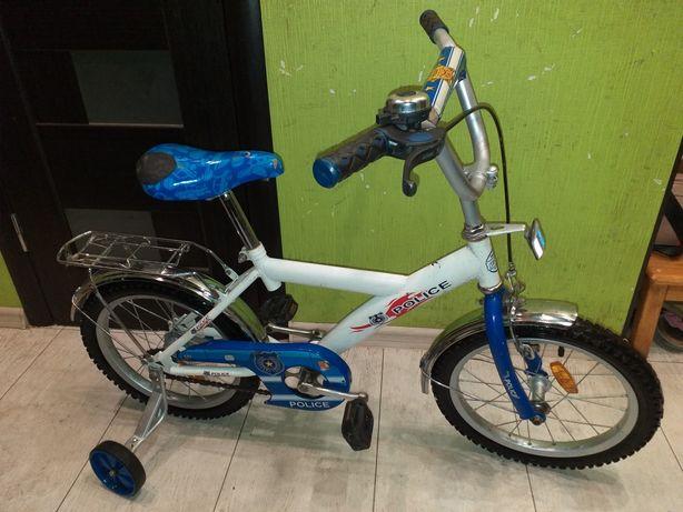 Продам детский велосипед Profi на 16 дюймов диаметр колёс Police.