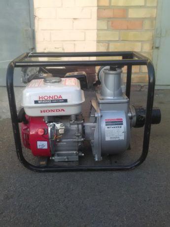 Насос для откачивания воды Мотопомпа Honda WT40XK2 ЯПОНИЯ помпа
