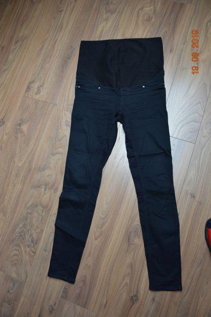 Spodnie ciążowe czarne rurki rozmiar S