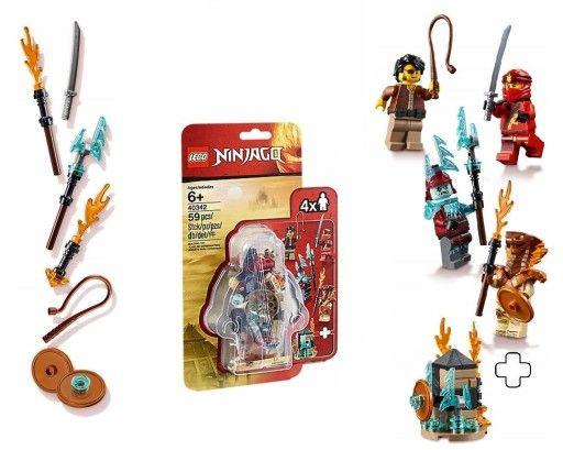 Klocki Lego Ninjago 2019 figurki zestaw 40342 nowy minifigurki.