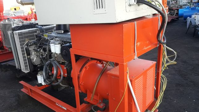 Agregat prądotwórczy 80 90 kw 110 120 Kva Leroy Somer bez silnika