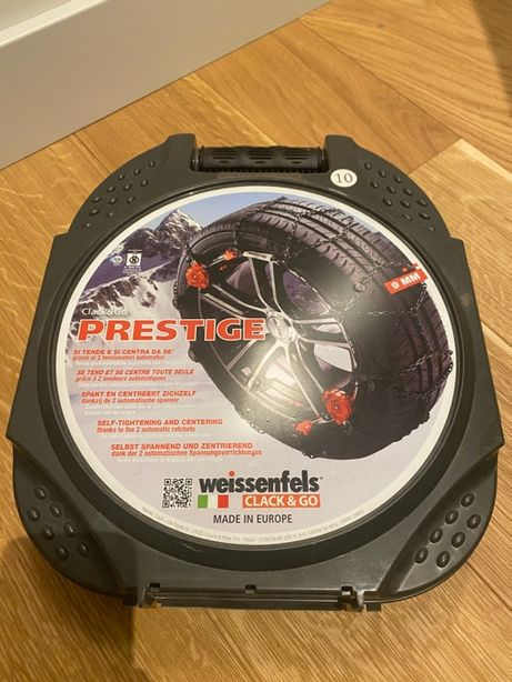 Łańcuchy śniegowe Prestige Weissenfels clack&go rozmiar 10