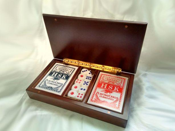 Подарок любимому мужчине начальнику набор игральных карт покер дорогой