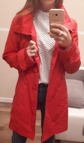 Płaszcz jesienny ONLY. Różowy. Rozm L