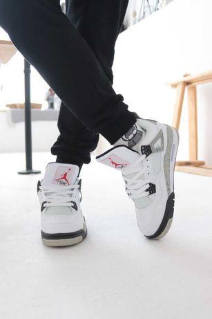 Мужские кроссовки Nike Air Jordan 4 Размеры:41-45