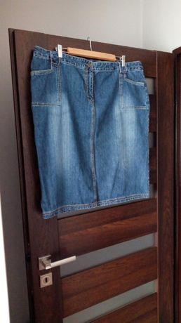 Dżinsowa spódnica, rozmiar 48