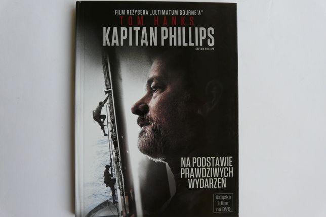 Kapitan Phillips - film DVD oraz książka