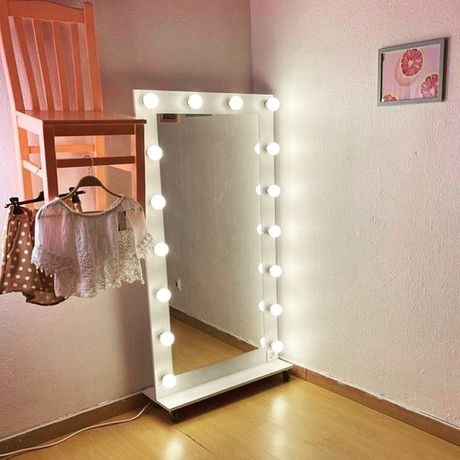 Espelho decorativo loja roupa
