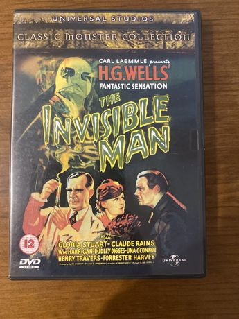 DVD Insible Man - H G Wells