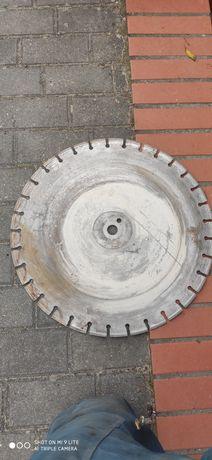 Tarcza diamentowa segmentowa fi 500 otwór 25,4 cm wys. diamentu 5 mm