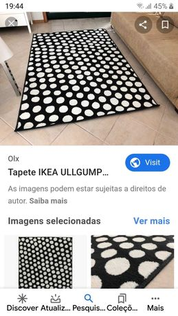 Carpete de 190 x 150
