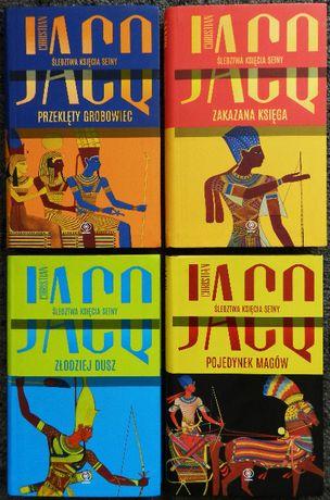 Jacq Christian - Przeklęty, Zakazana księga, Złodziej dusz, Pojedynek