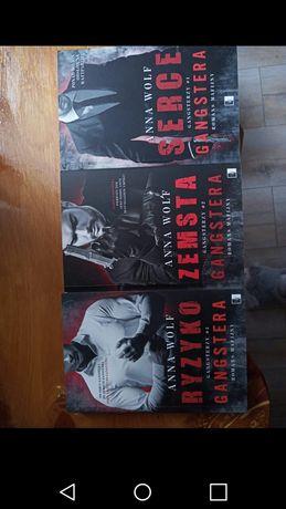 Gangsterzy Anna Wolf seria książki