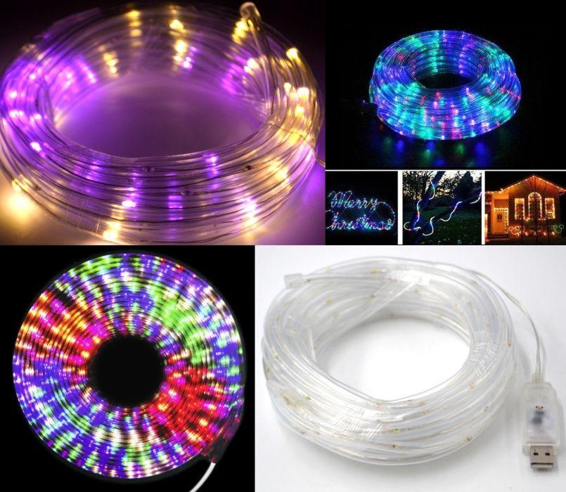 Дюралайтовый гибкий световой кабель Мультицветной 10м*100 LED-ламп Киев - изображение 1