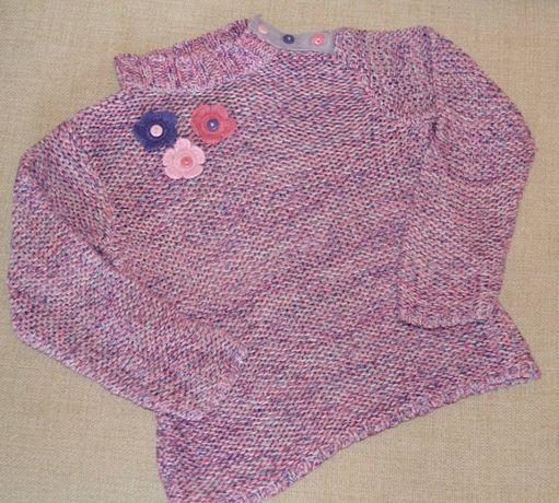 Стильный легкий свитер Next, 3-5 лет, 98-110 см, отличное состояние