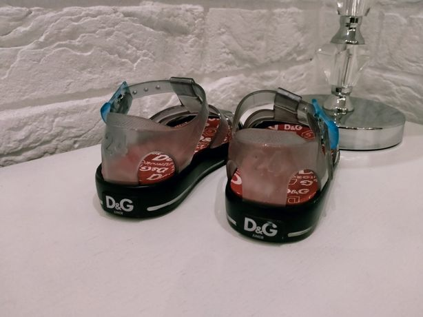 Sandalki dzieciece D&G