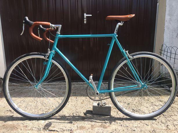 Rower miejski kolarzówka single speed rama Batavus nie ostre koło