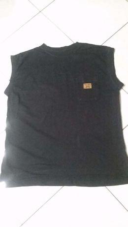 t-shirt męski, koszulka czarna