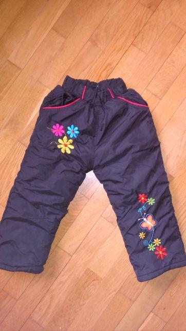 Теплий одяг для дівчинки від 1 р. до 3 р.