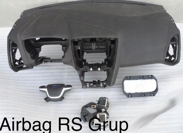 Ford Fiesta MK3 tablier airbags cintos