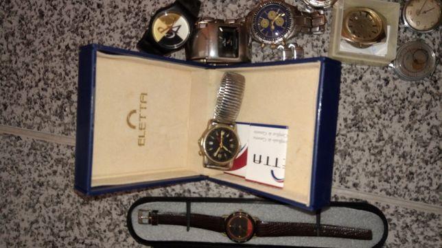 Lote relógios coleção