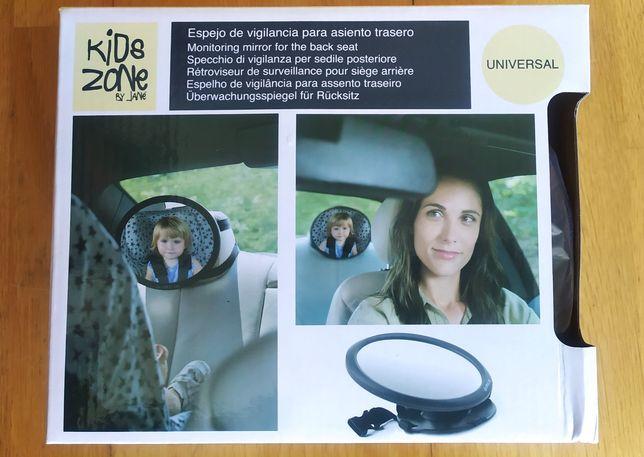 Espelho de vigilância para assento traseiro
